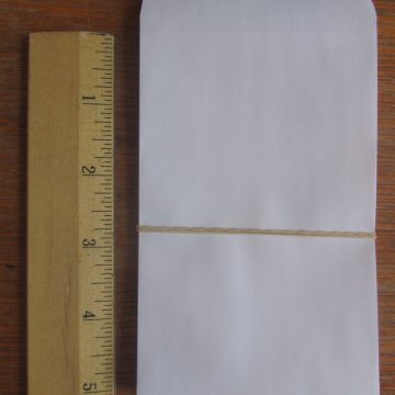 size #7 paper packets