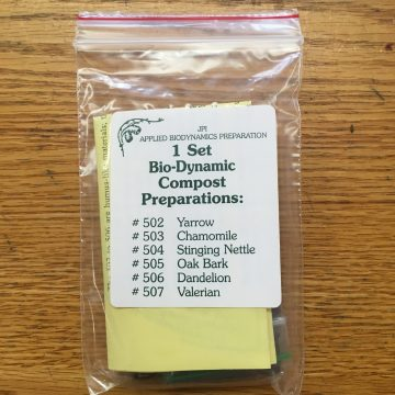 Biodynamic Compost Preparation Set