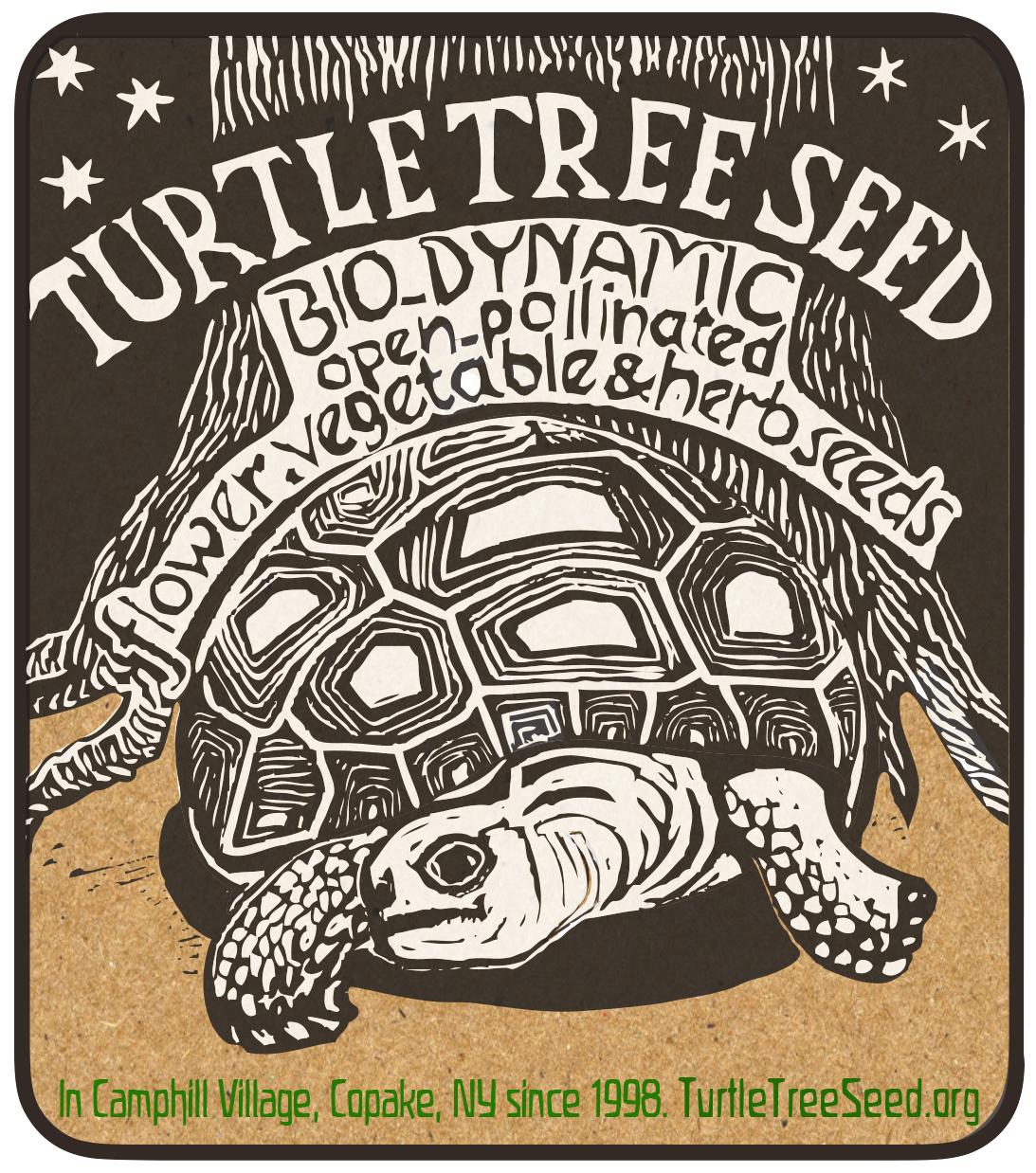 Turtle Tree 2019 Sticker